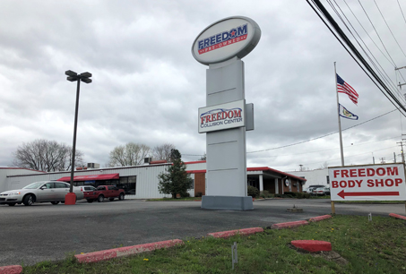 Freedom Collision Center in Morgantown WV