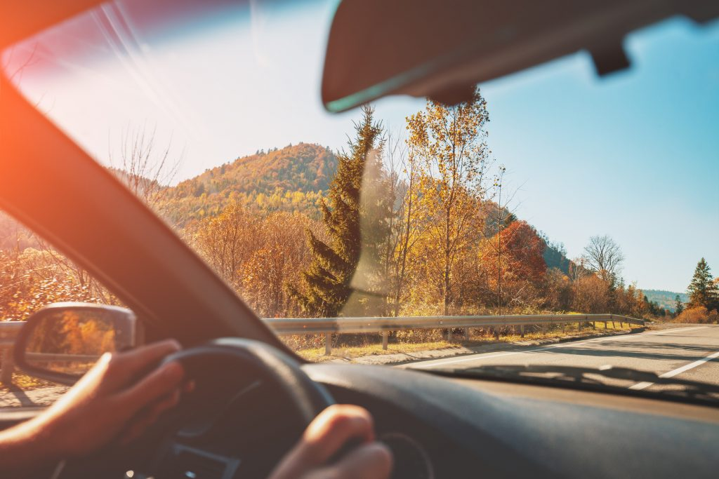 Car Driving during Fall